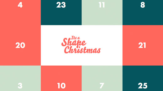 Shape Christmas